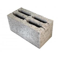 Перегородочный керамзитобетоный блок 390х120х188 мм
