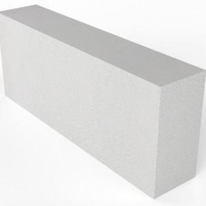 Перегородочный полнотелый газоблок Биктон D800 размером 125х250х600 мм
