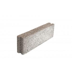 Стеновой полнотелый керамзитобетоный блок 200х200х400 мм пазогребневый / некондиция