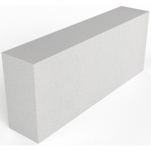 Стеновой полнотелый газоблок ВКБ D500 размером 600х400х250 мм