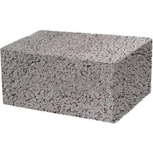 Стеновой полнотелый керамзитобетоный блок 390х190х188 мм скц