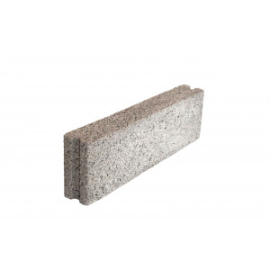 Стеновой полнотелый керамзитобетоный блок 200х200х400 мм пазогребневый