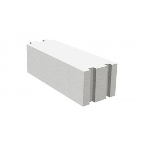 Газосиликатный блок Hebel D500 размером 625х250х400 мм