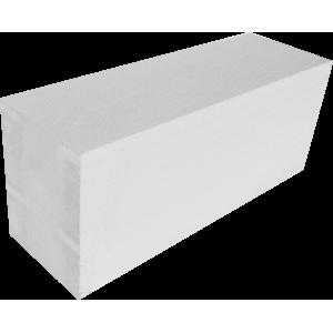 Стеновой полнотелый пеноблок D600 размером 100х250х600 мм