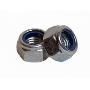 Гайка М8 с контрящим кольцом КРЕП-КОМП DIN 467