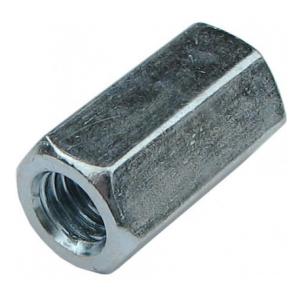 Гайка М6 оцинкованная удлиненная КРЕП-КОМП DIN 6334