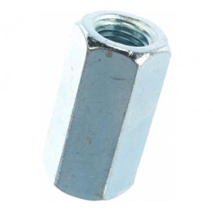Гайка М20 белый цинк переходная Стройбат DIN 467