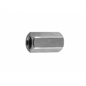 Гайка М42 белый цинк соединительная Бифаст DIN 6334