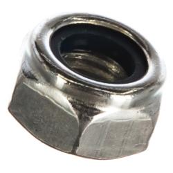 Гайка с нейлоновым кольцом самостопорящаяся М10 Метизный двор 100 шт.