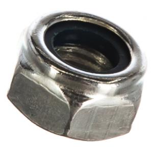 Гайка М10 с нейлоновым кольцом самостопорящаяся Метизный двор DIN 985