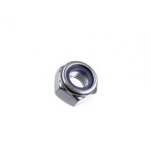 Гайка М10 оцинкованная со стопорным кольцом Саморезик.ru DIN 985