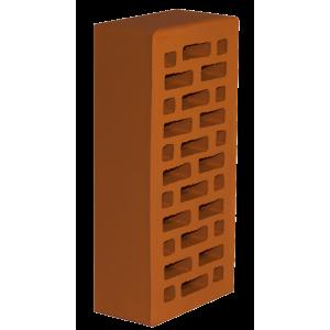 Новомосковский керамический фасадный одинарный кирпич М-150 красного цвета