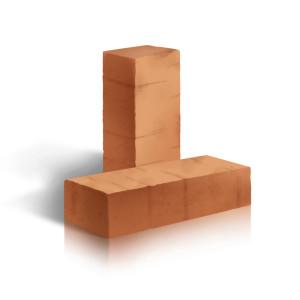 Керамический строительный полнотелый одинарный кирпич ЛСР М-250